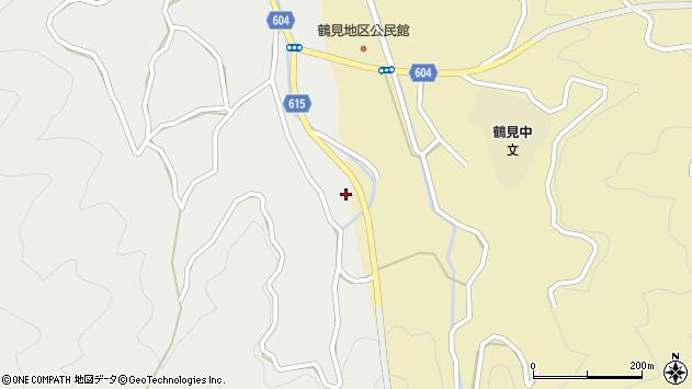大分県佐伯市鶴見大字地松浦1903周辺の地図
