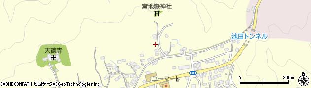 大分県佐伯市長谷8973周辺の地図