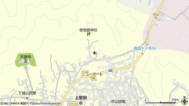 大分県佐伯市長谷9201周辺の地図