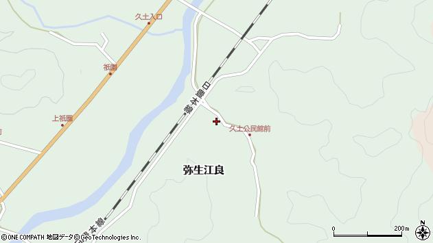 大分県佐伯市弥生大字江良2716周辺の地図