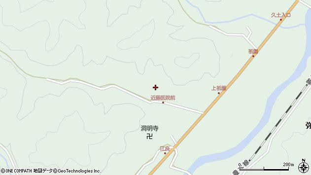 大分県佐伯市弥生大字江良1339周辺の地図