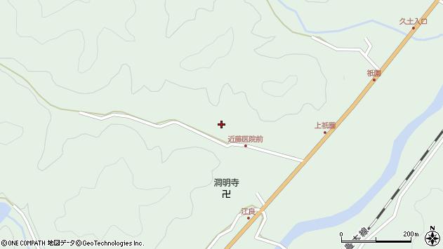 大分県佐伯市弥生大字江良1340周辺の地図