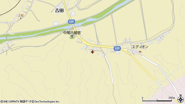 大分県竹田市吉田2013周辺の地図