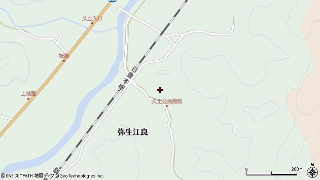 大分県佐伯市弥生大字江良2713周辺の地図