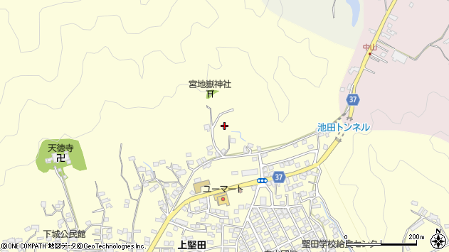 大分県佐伯市長谷10320周辺の地図