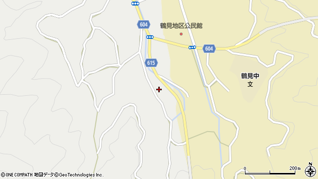 大分県佐伯市鶴見大字地松浦1913周辺の地図