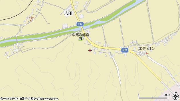 大分県竹田市吉田2022周辺の地図
