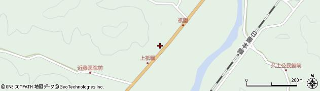 大分県佐伯市弥生大字江良1419周辺の地図