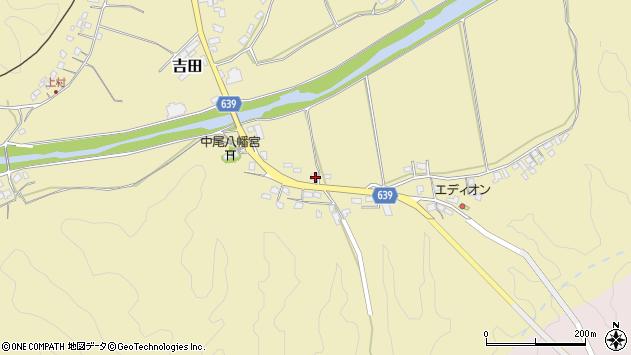 大分県竹田市吉田2026周辺の地図