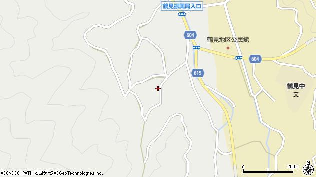 大分県佐伯市鶴見大字地松浦1478周辺の地図