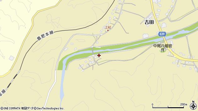 大分県竹田市吉田1651周辺の地図