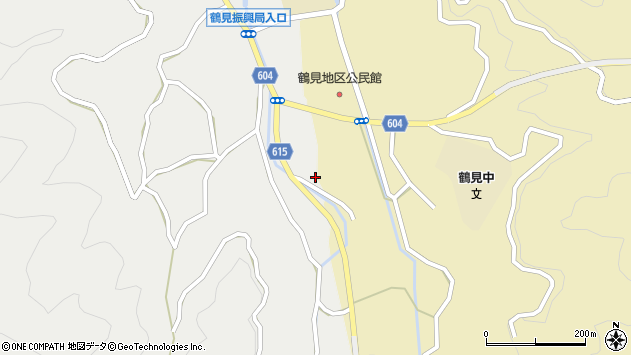大分県佐伯市鶴見大字沖松浦15周辺の地図