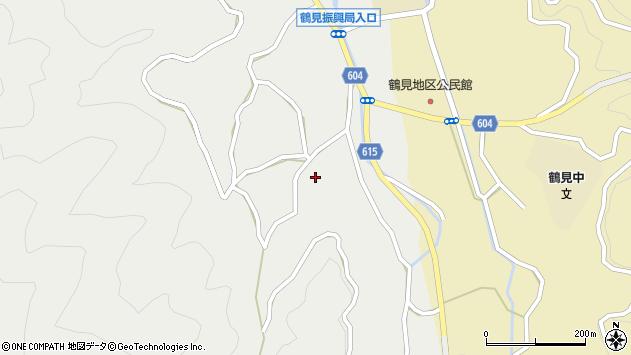 大分県佐伯市鶴見大字地松浦1621周辺の地図