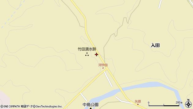 大分県竹田市入田2226周辺の地図