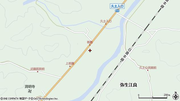 大分県佐伯市弥生大字江良2003周辺の地図