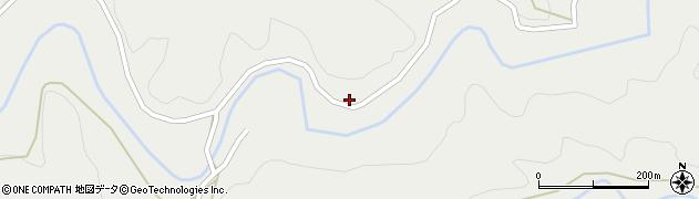 大分県竹田市荻町南河内16周辺の地図