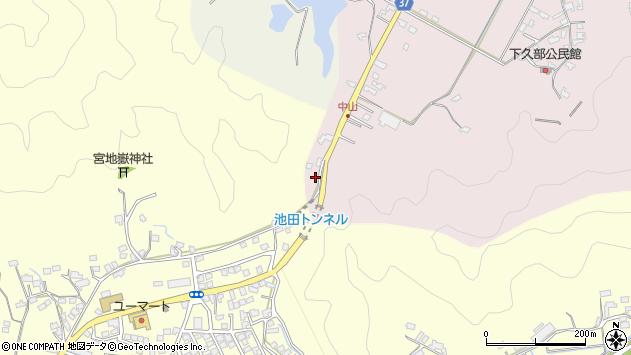 大分県佐伯市池田1063周辺の地図