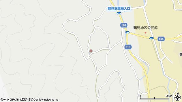 大分県佐伯市鶴見大字地松浦1400周辺の地図