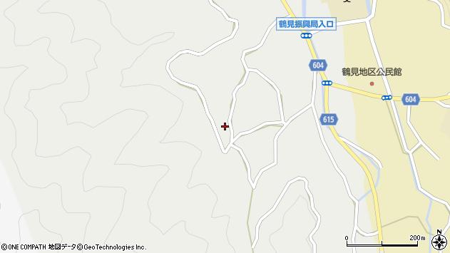 大分県佐伯市鶴見大字地松浦1245周辺の地図