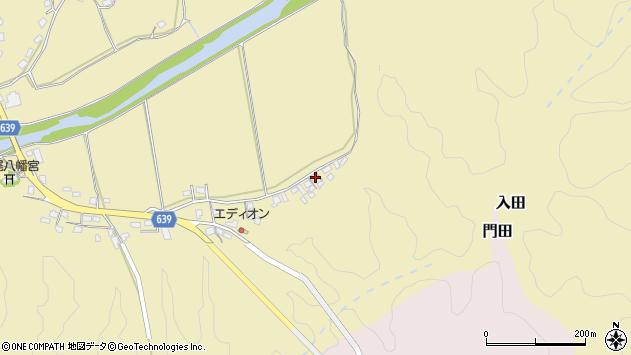 大分県竹田市吉田2207周辺の地図