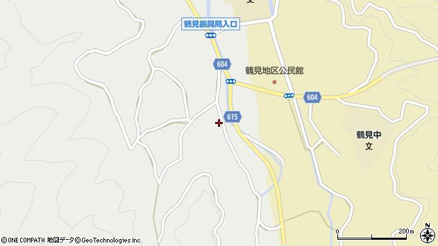 大分県佐伯市鶴見大字地松浦1644周辺の地図
