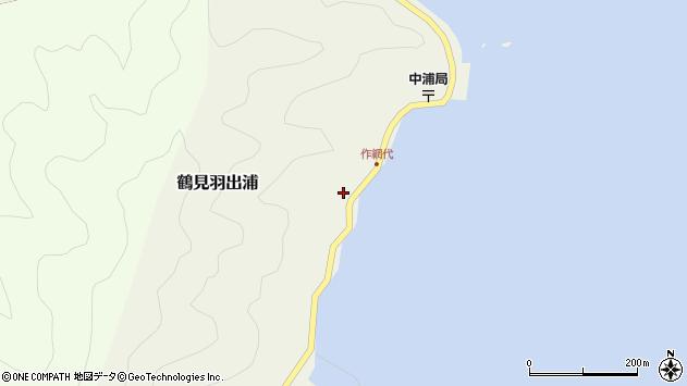 大分県佐伯市鶴見大字羽出浦614周辺の地図