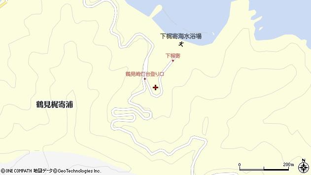 大分県佐伯市鶴見大字梶寄浦519周辺の地図