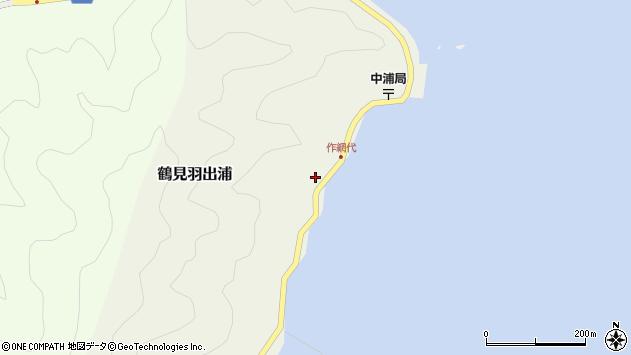 大分県佐伯市鶴見大字羽出浦599周辺の地図