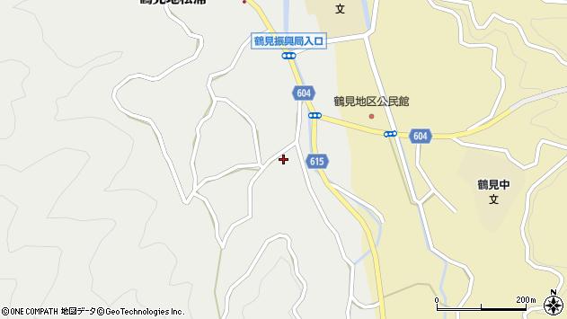 大分県佐伯市鶴見大字地松浦1648周辺の地図