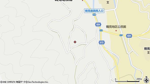 大分県佐伯市鶴見大字地松浦1392周辺の地図