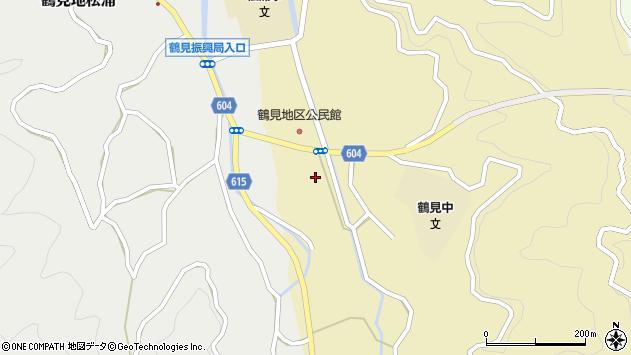 大分県佐伯市鶴見大字沖松浦20周辺の地図