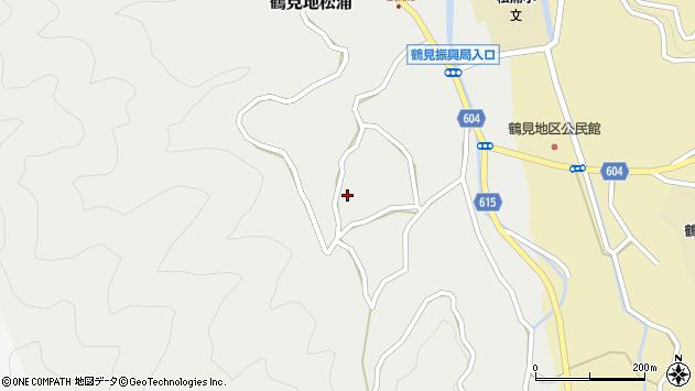 大分県佐伯市鶴見大字地松浦1272周辺の地図