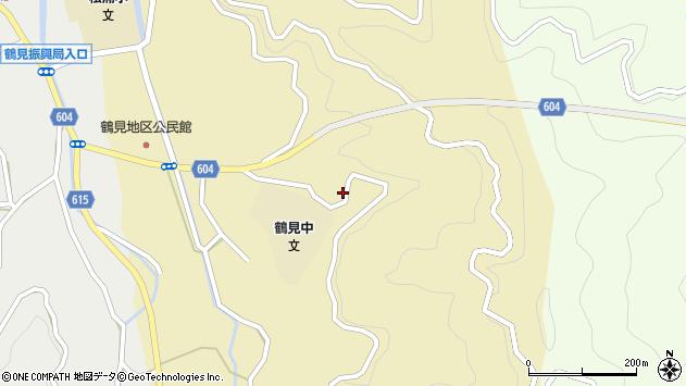 大分県佐伯市鶴見大字沖松浦594周辺の地図