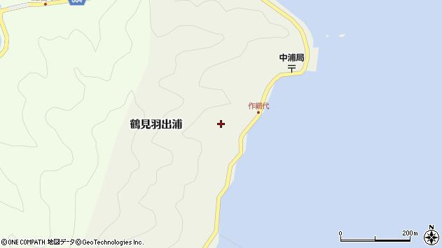 大分県佐伯市鶴見大字羽出浦650周辺の地図