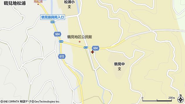 大分県佐伯市鶴見大字沖松浦507周辺の地図