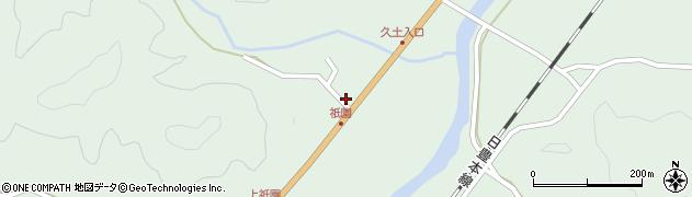 大分県佐伯市弥生大字江良1428周辺の地図