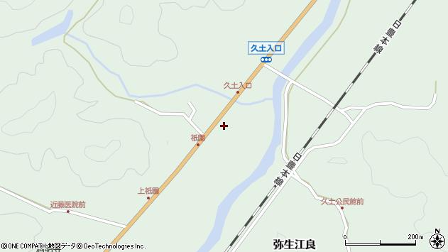 大分県佐伯市弥生大字江良1905周辺の地図