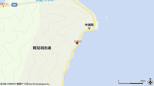 大分県佐伯市鶴見大字羽出浦590周辺の地図