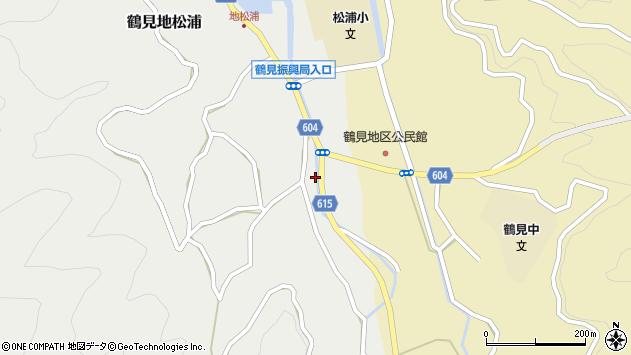 大分県佐伯市鶴見大字地松浦1942周辺の地図