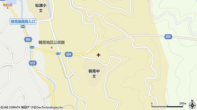 大分県佐伯市鶴見大字沖松浦550周辺の地図