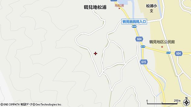 大分県佐伯市鶴見大字地松浦1188周辺の地図