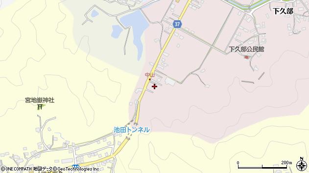 大分県佐伯市池田1118周辺の地図