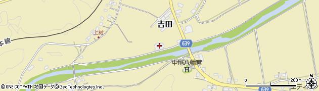 大分県竹田市吉田393周辺の地図