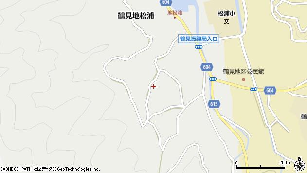 大分県佐伯市鶴見大字地松浦1469周辺の地図