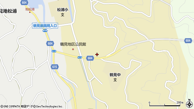 大分県佐伯市鶴見大字沖松浦655周辺の地図