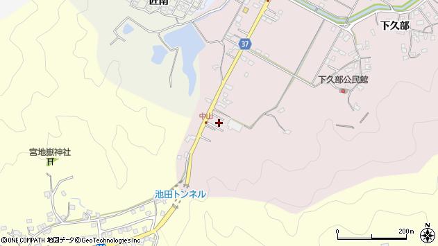 大分県佐伯市池田1123周辺の地図