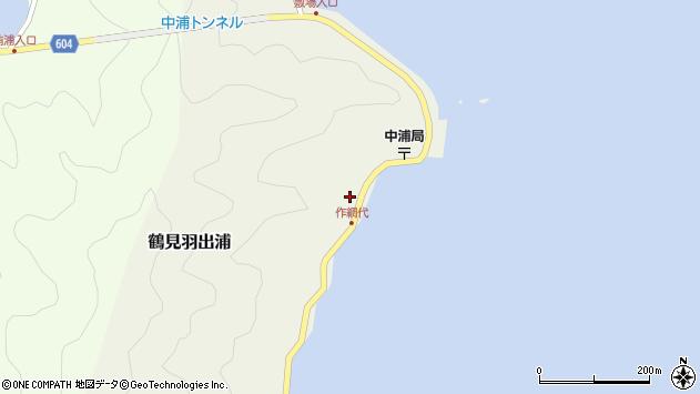 大分県佐伯市鶴見大字羽出浦578周辺の地図