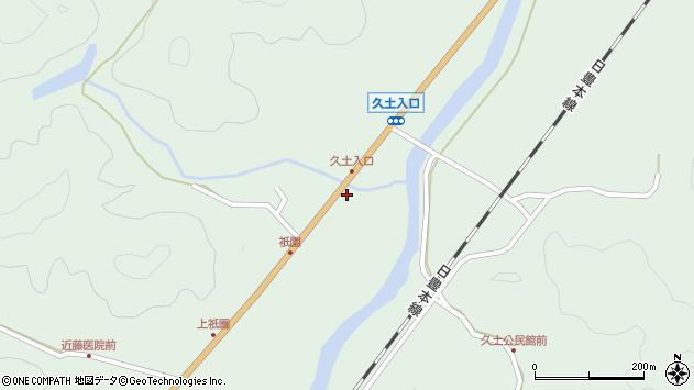 大分県佐伯市弥生大字江良1899周辺の地図