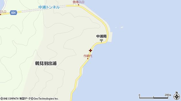 大分県佐伯市鶴見大字羽出浦576周辺の地図