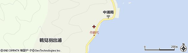 大分県佐伯市鶴見大字羽出浦574周辺の地図
